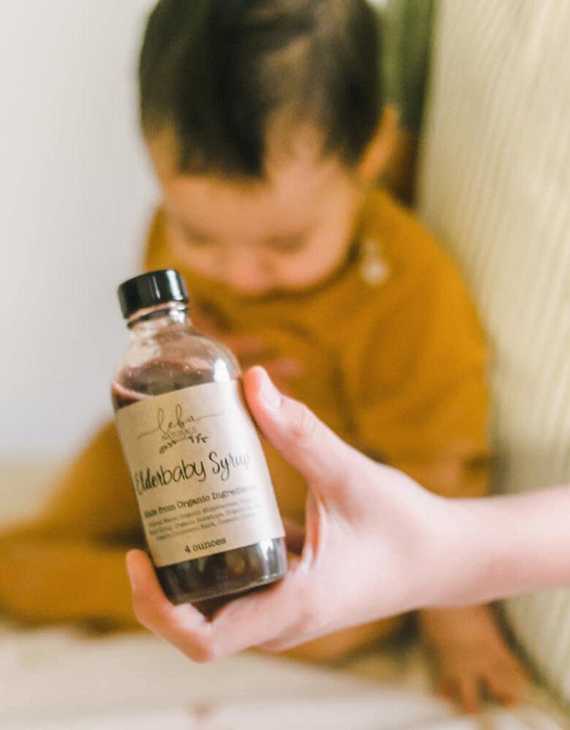 Leba Naturals Elderbaby Syrup Prepared Bottles