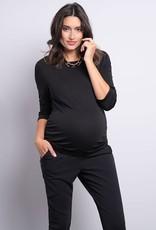 Seraphine Detachable Collar Maternity Top - Seraphine
