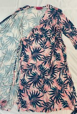 Mas Mama 3/4 Sleeve Wrap Dress - Mas Mama