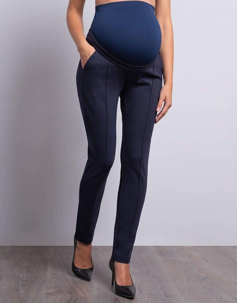 Seraphine Slim Fit Tailored Ponte Maternity Pants