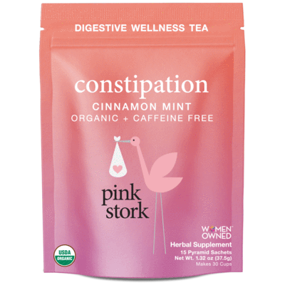 Pink Stork Constipation Tea