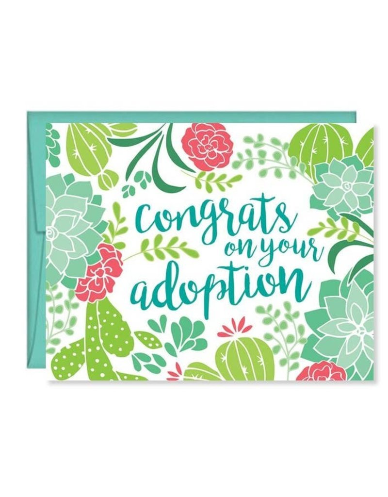 Congrats on your Adoption Card