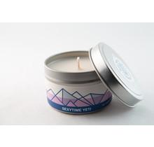 Big White Yeti Limited Edition Soy Candle - 6oz Tin