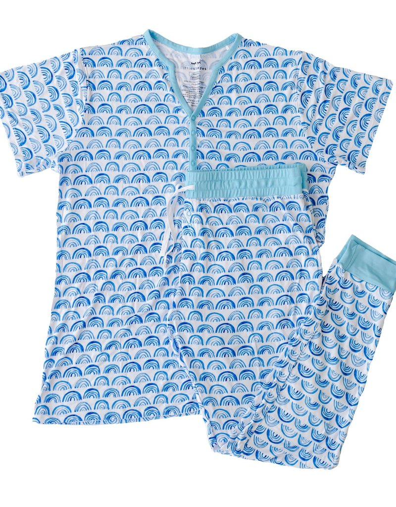 Little Sleepies Two-Piece Women's Bamboo Pajama Set With Pants
