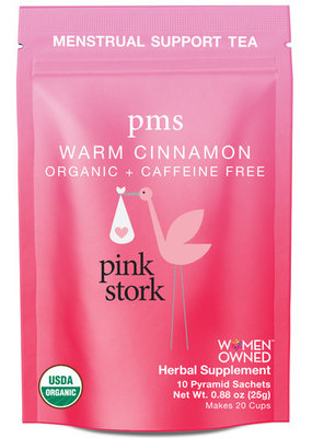 Pink Stork PMS Tea: Warm Cinnamon
