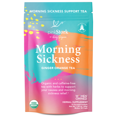 Pink Stork Morning Sickness Ginger Orange Tea