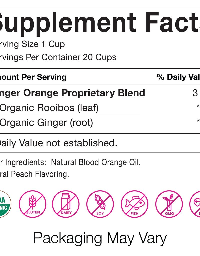 Pink Stork Morning Sickness Ginger Orange Tea