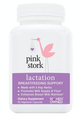 Pink Stork Lactation Supplement - 60 Capsules