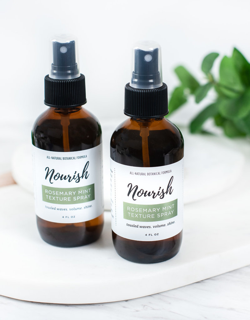 Nourish Rosemary Mint Hair Texture Spray