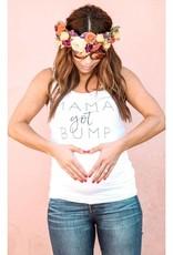 to: Little Arrows Mama Got Bump Maternity Tank