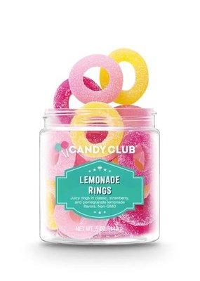 Candy Club Lemonade Rings - 5oz