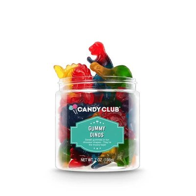 Candy Club Gummy Dinos - 7oz