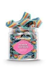 Candy Club Rainbow Sour Belts Candy Treats - 5oz