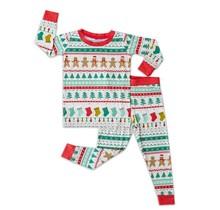 Fair Isle Two-Piece Bamboo Pajama Set