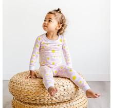 Daisies Two-Piece Bamboo Pajama Set