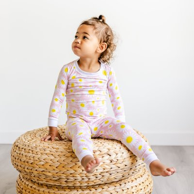 Little Sleepies Daisies Two-Piece Bamboo Pajama Set