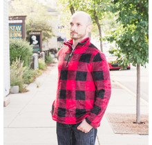Adult Plaid Pullover