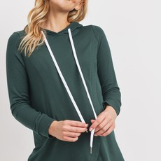 Hello Miz Olive French Terry Maternity and Nursing Hoodie