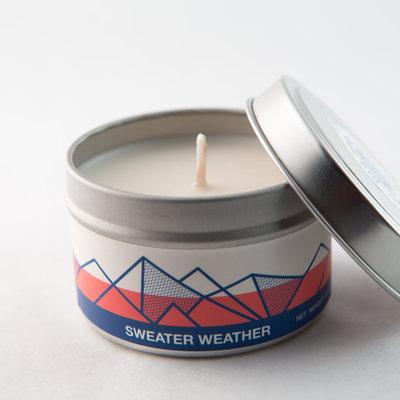 Big White Yeti Sweater Weather 6 oz tin candle