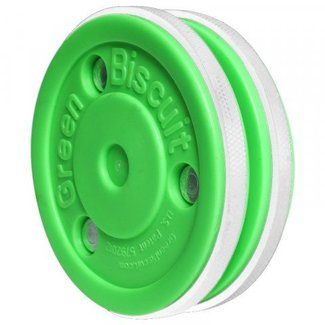 Green Biscuit Pro Stickhandling Training Puck