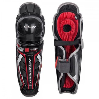 CCM CCM Jetspeed FT390 Hockey Shin Guards - Sr.