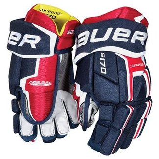 BAUER Bauer S17 Supreme S170 Hockey Gloves Sr.