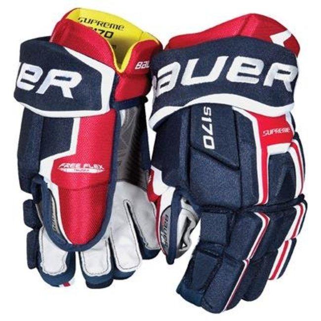 BAUER Bauer S18 Nexus 2 N Pro Hockey Gloves - Sr.