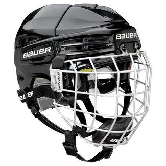 BAUER Bauer Re-Akt 100 Combo Hockey Helmet - Yth.
