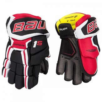 BAUER Bauer S17 Supreme 1S Hockey Gloves - Yth.