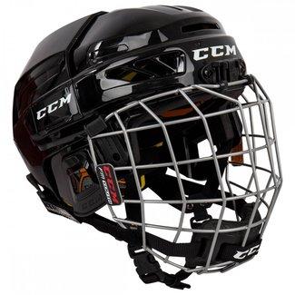 CCM CCM Fitlite 3DS Combo Hockey Helmet - Yth.