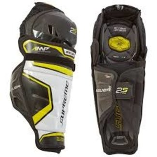 BAUER Bauer S19 Supreme 2S Pro Hockey Shin Guards - Jr.