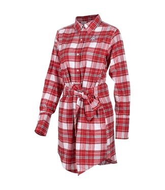 Zoozatz Warm Up Flannel Dress