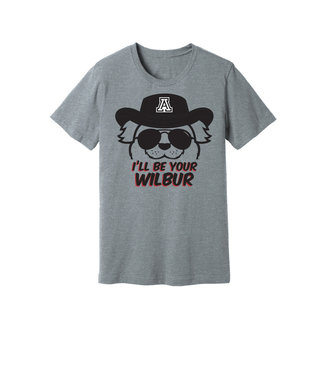Arizona Wildcats Store I'll Be Your Wilbur Tee
