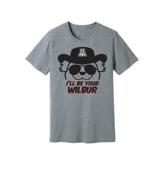 Arizona Wildcats Store I'll Be Your Wilbur Tee