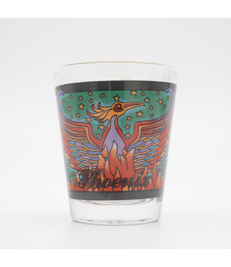 Desert Star Phoenix Shot Glass 2 oz