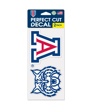 Wincraft Set of 2 Decals 4x4""