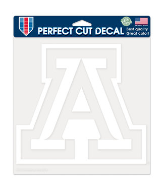 Wincraft 'A' Large Decal - White
