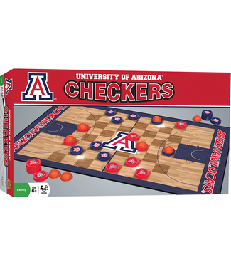 Master Pieces Arizona Checkers Board Game