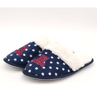 Renaissance Imports Polka Dot Slippers