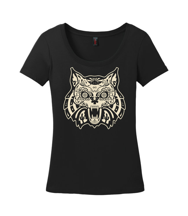 Arizona Wildcats Store Glowing Gato Women's Tee