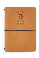 Rustico Refillable Leather Golf Log