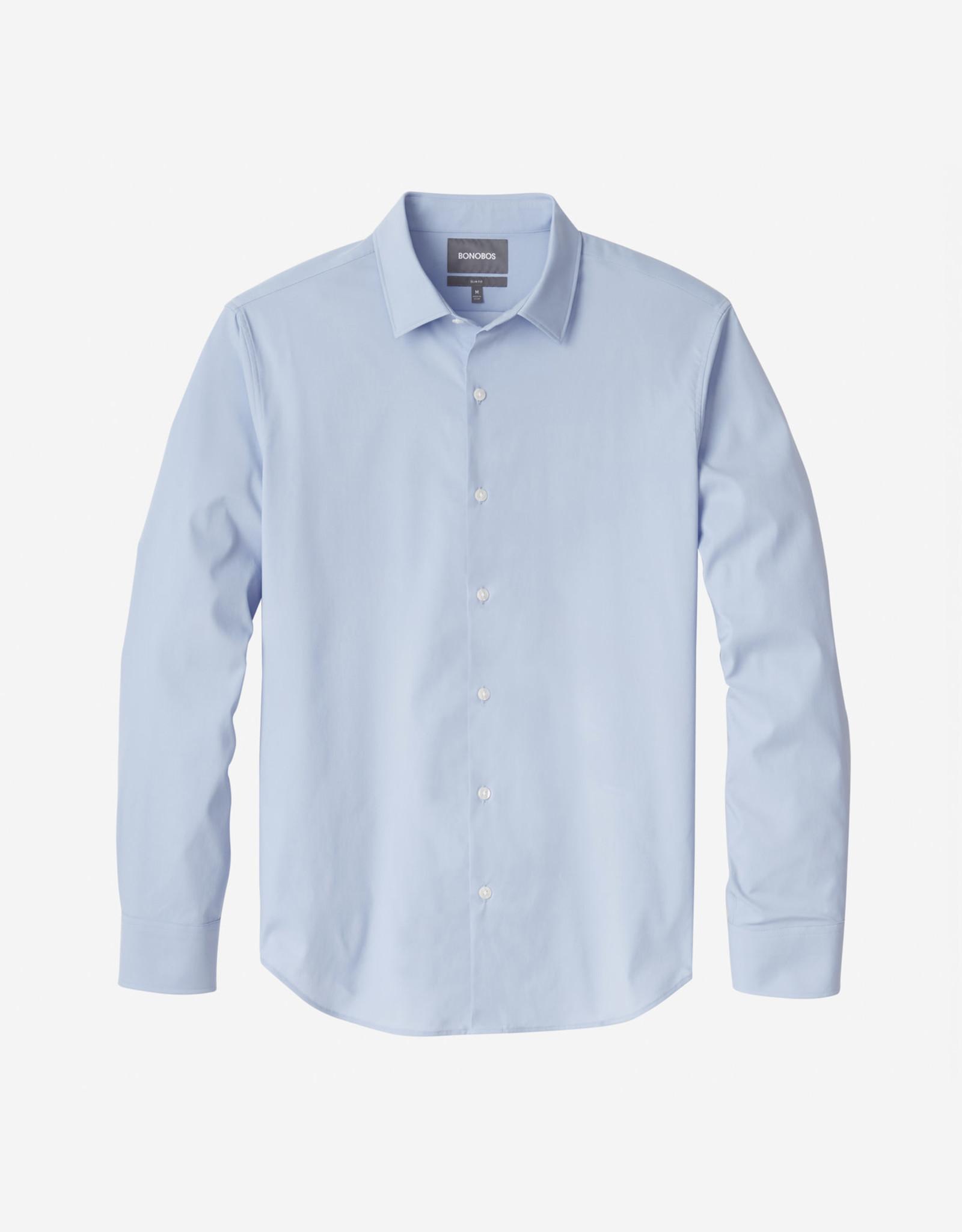 Bonobos Tech Button Down Shirt Blue