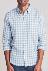 Faherty BD Everyday Opal Sea Check
