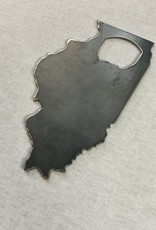 BE. Outfitters Illinois Bottle Opener