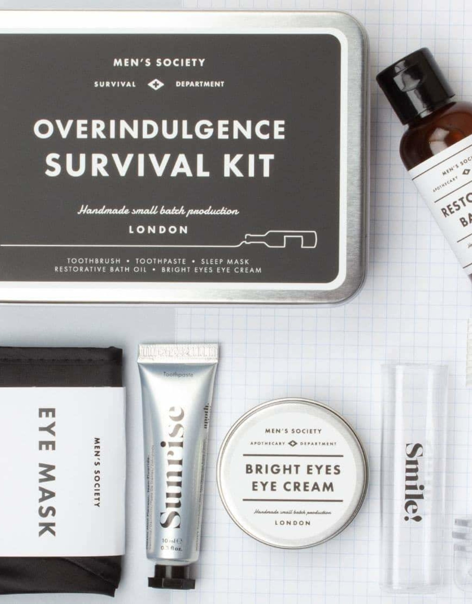 Men's Society Overindulgence Survival Kit