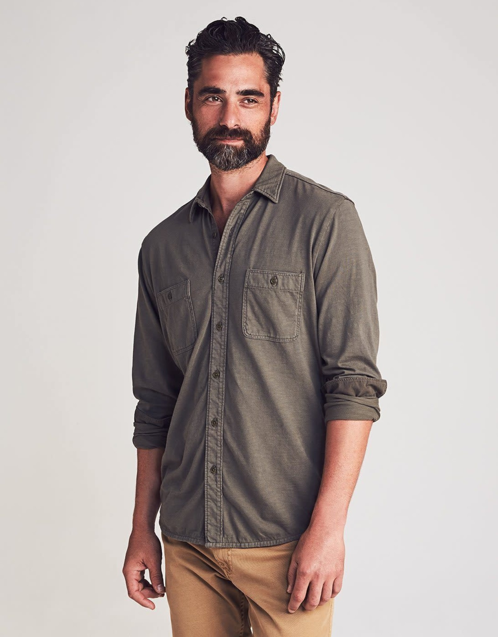 Faherty Knit Four Seasons Shirt