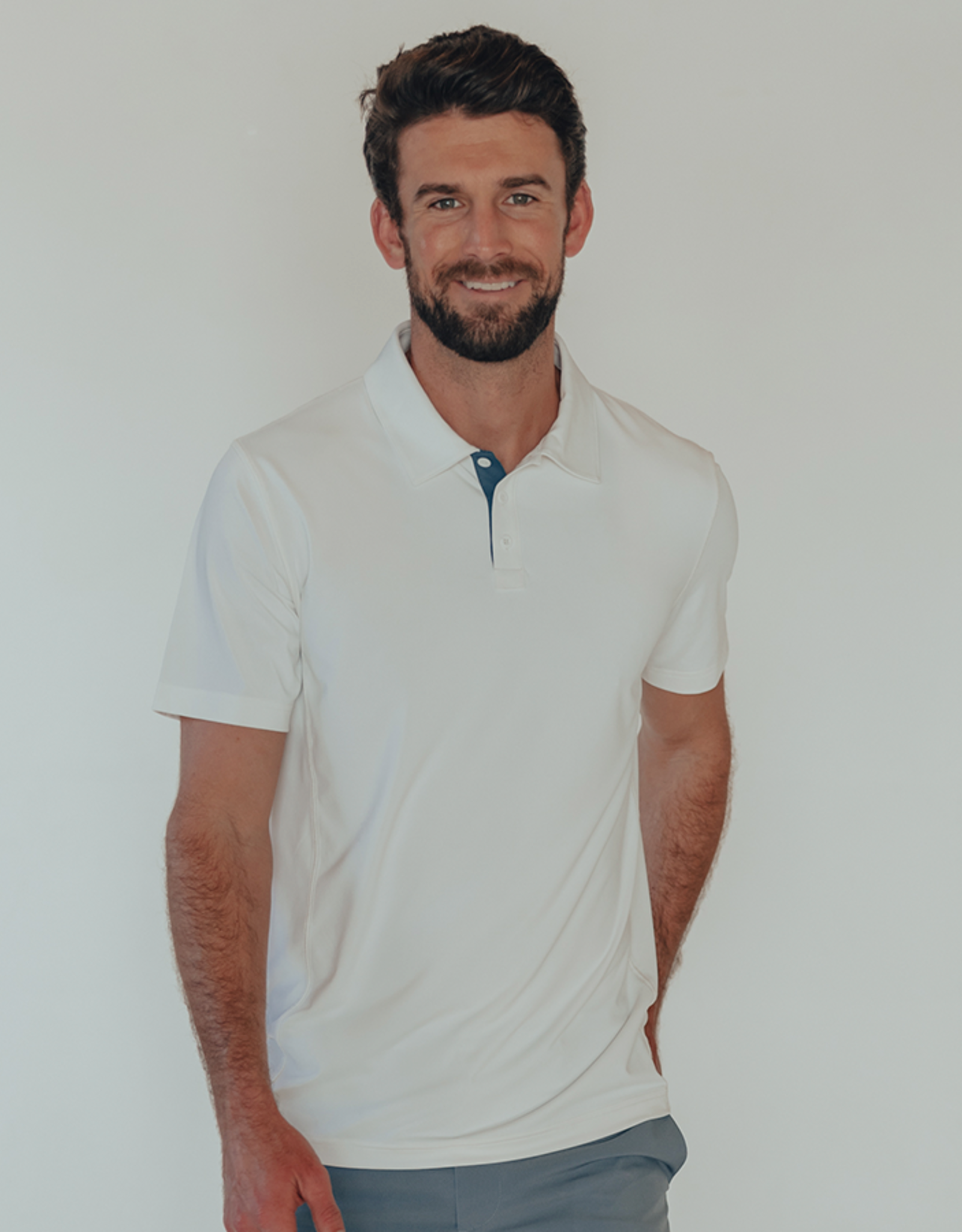 The Normal Brand Cross Backseam Performace Polo