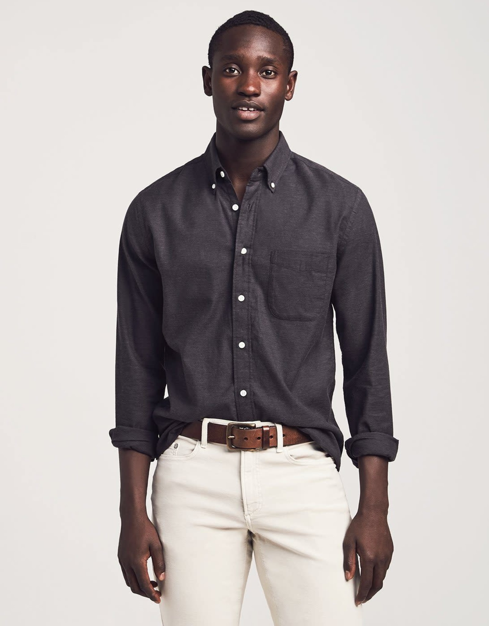 Faherty STRETCH OXFORD SHIRT