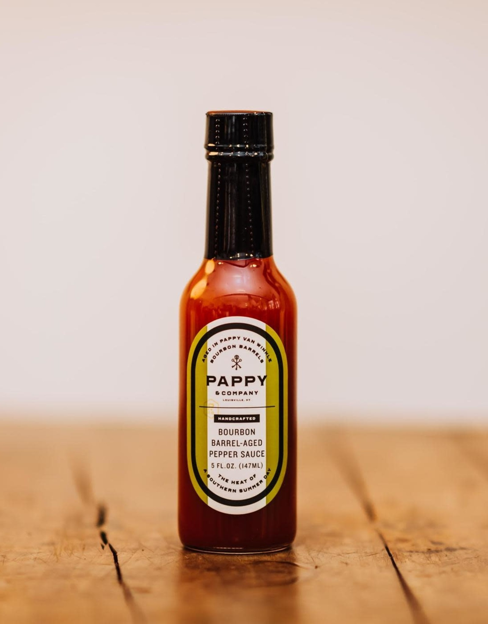Pappy & Company Bourbon Barrel-Aged Pepper Sauce