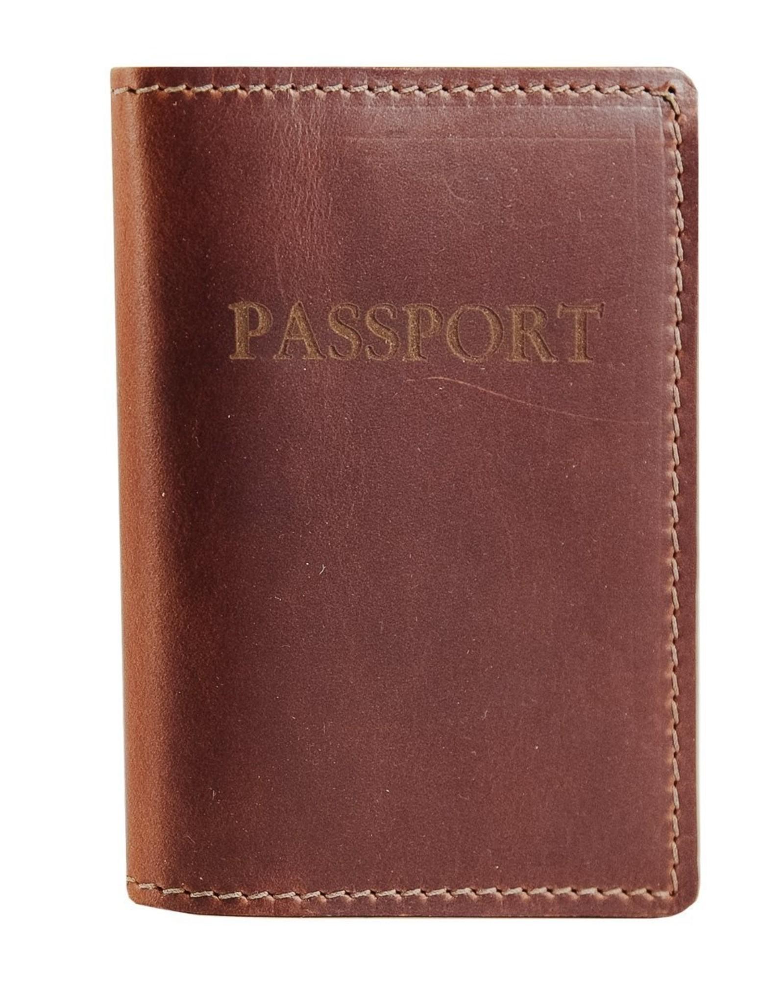 Rustico Leather Passport Cover